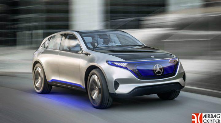Mercedes представил 408-сильный электрокроссовер