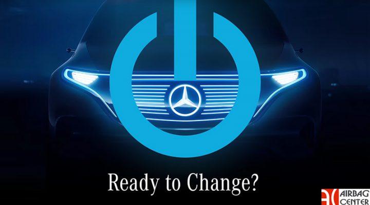 Mercedes-Benz показал фрагменты предвестника электрокроссовера