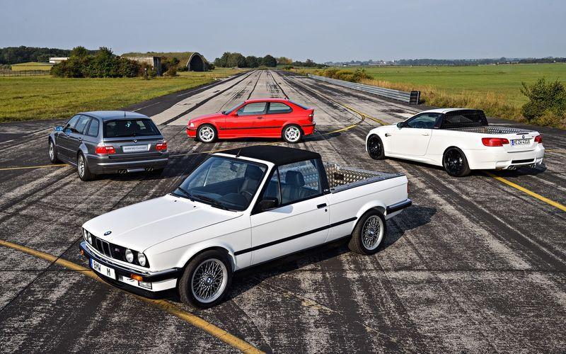 уникальные BMW M3 собрались по случаю юбилея