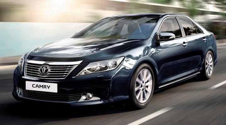 Страховщики назвали Toyota Camry самой угоняемой моделью в РФ
