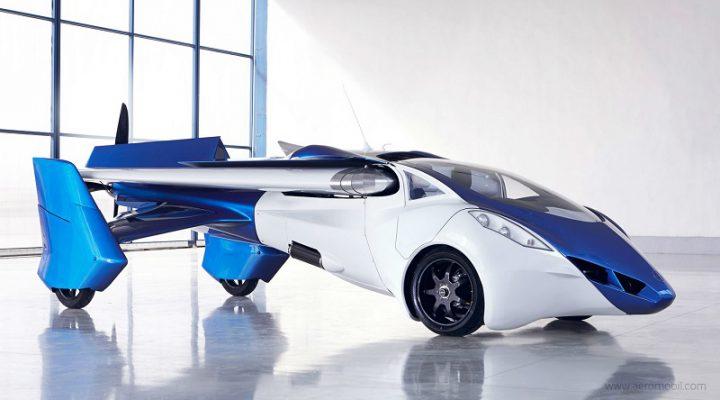 Фирма AeroMobil из Словакии разработала летающий автомобиль