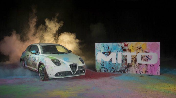 Хэтчбек Alfa Romeo MiTo нарисовал картину