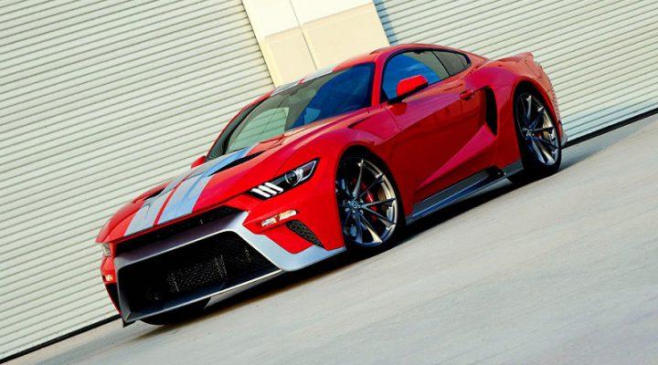 Американские тюнеры смешали дизайн Ford Mustang с суперкаром GT