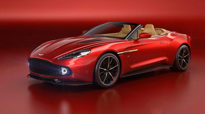 Стала известна стоимость открытой версии Aston Martin Vanquish от Zagato