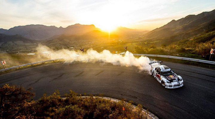 Дрифтер проскользил по горному перевалу со скоростью 248 км/ч