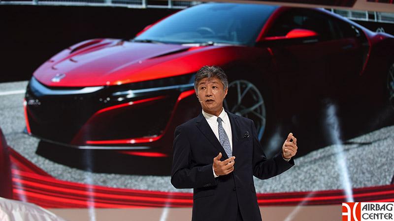 Пресс-конференция Honda