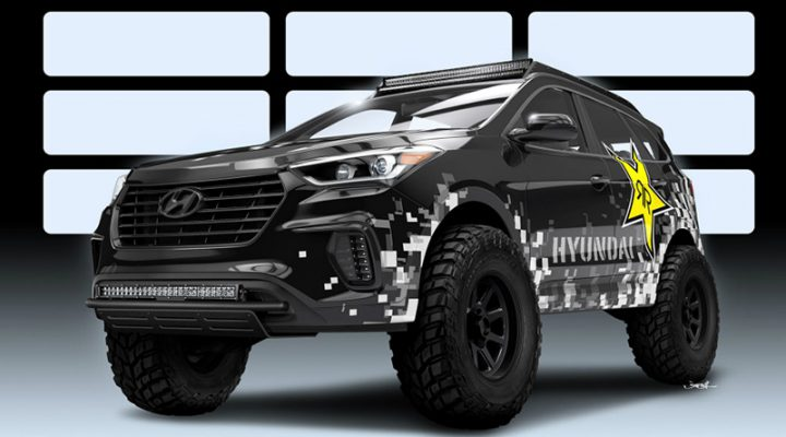 Hyundai Santa Fe оснастят системой впрыска закиси азота