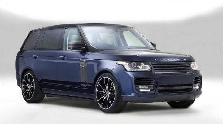 Тюнинг-ателье Overfinch представило Range Rover за 320 000$