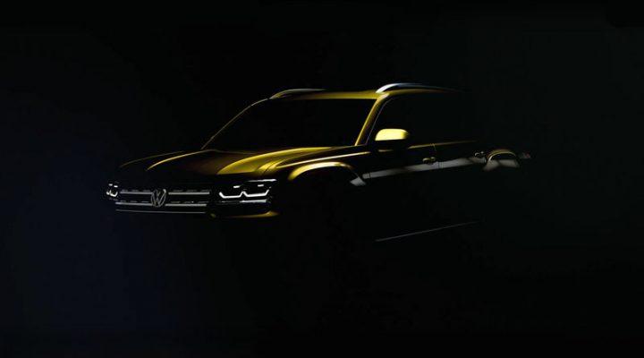 Кроссовер Volkswagen Atlas выходит из сумрака