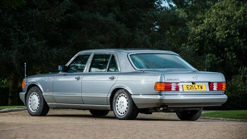 бронированный Mercedes-Benz 560 SEL 1988 года