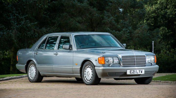 Бронированный Mercedes короля Иордании выставили на аукцион