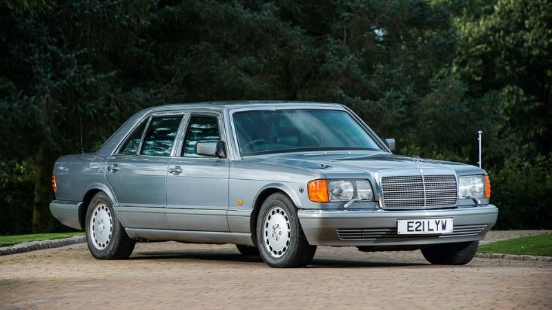 бронированный Mercedes-Benz 560 SEL