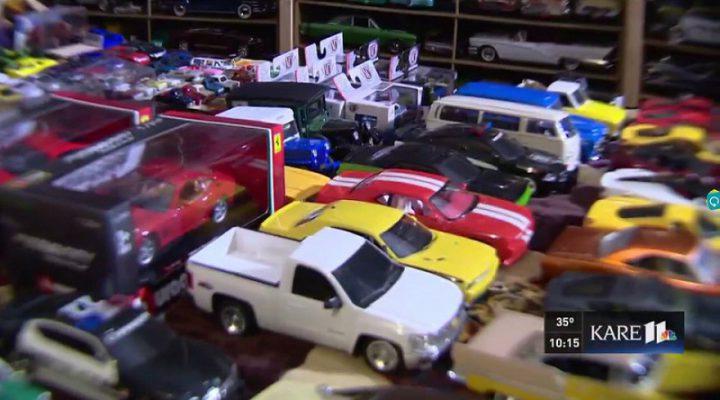 Американец завещал церкви 30 тысяч игрушечных машинок