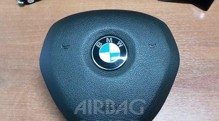 Восстановление накладки на руль BMW