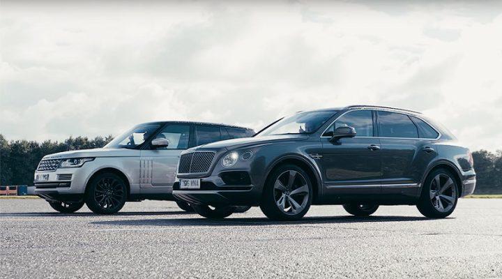 Быстрейший внедорожник в мире сравнили в гонке с топовым Range Rover