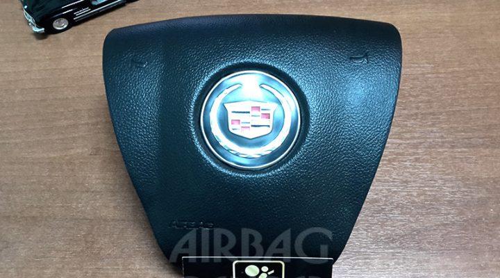 Восстановление накладки на руль Cadillac Escalade