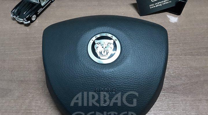 Восстановление накладки на руль Jaguar XF