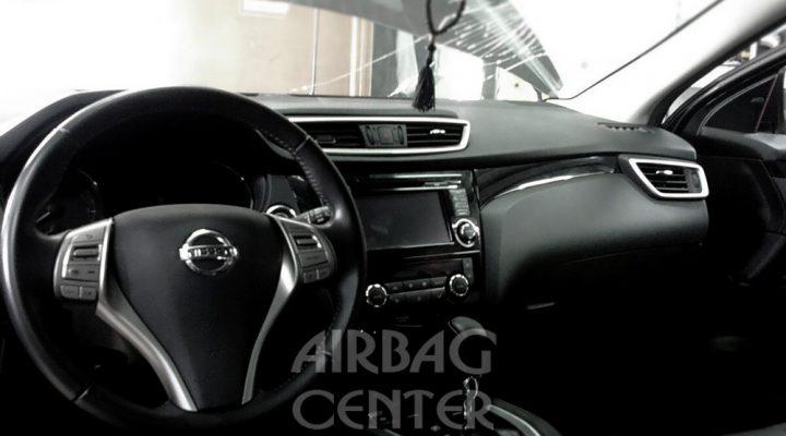 История декоративного восстановления аэрбаг: Nissan Qashqai