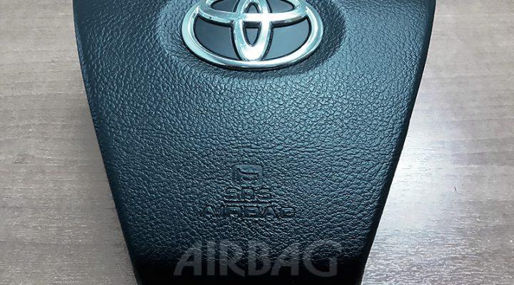 Восстановление накладки на руль Toyota