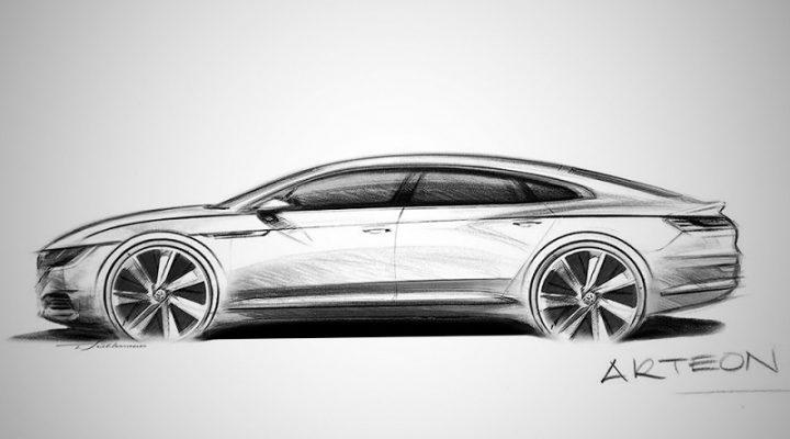 Volkswagen показал замену «купеообразному седану» CC