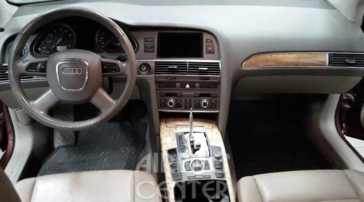 История покраски и установки панели торпедо: Audi A6