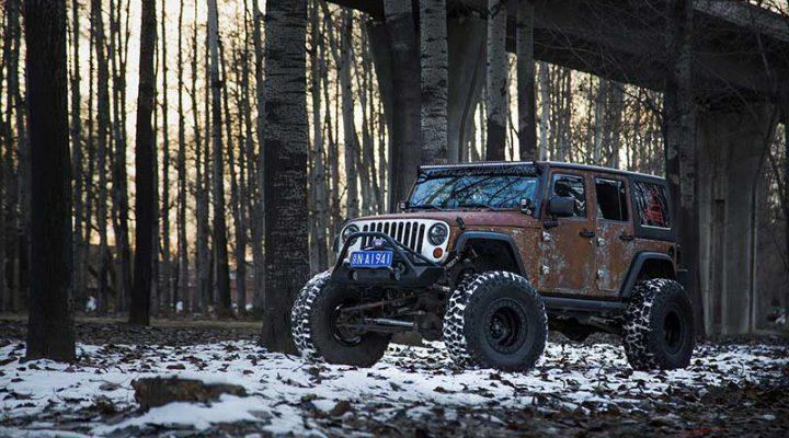 Болгары из Vilner построили «ржавый» Jeep Wrangler для любителей охоты