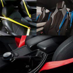 Цвет ремня безопасности может подчеркнуть интерьер Вашего авто