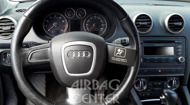 История восстановления системы безопасности: Audi А3