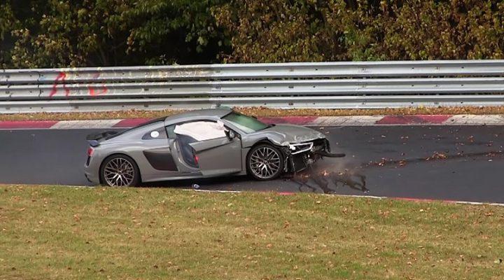Аварии на Нюрбургринге за год объединили в 12-минутное видео