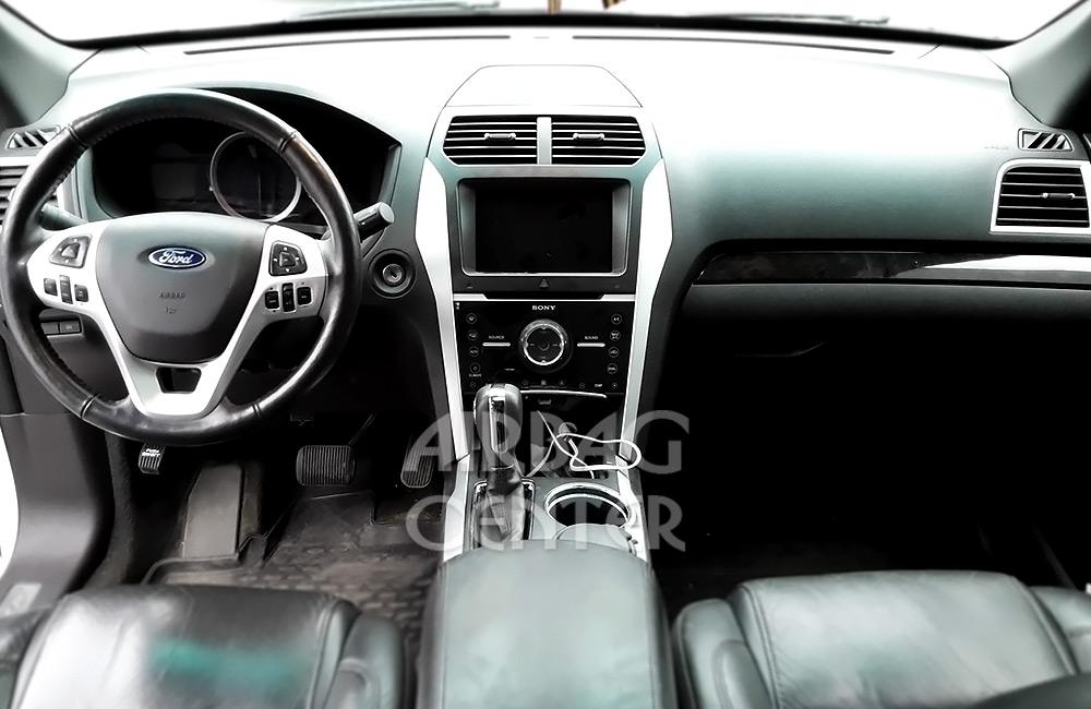 Восстановление подушки безопасности на Ford Explorer