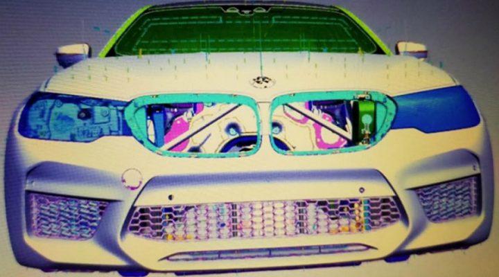Внешность новой BMW M5 раскрыли на проектных рендерах