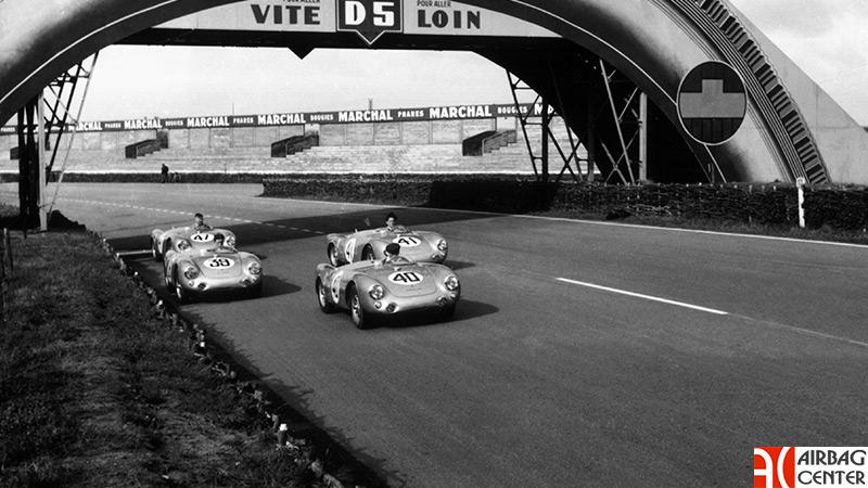 История первого спорткара компании Porsche - Porsche 550 история, авто, Porsche, паук, 550, Спорткар