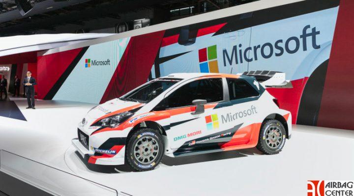 Toyota показала новую раскраску для раллийного Yaris