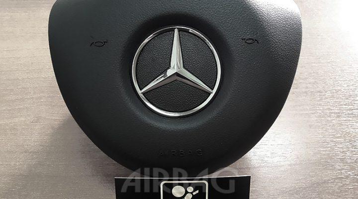 Восстановление накладки на руль Mercedes Benz