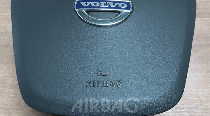 Восстановление накладки на руль Volvo