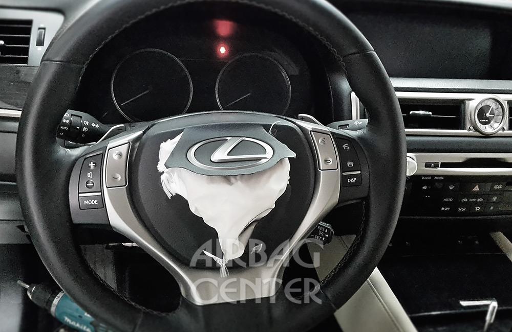 Восстановление аэрбаг Lexus GS 300