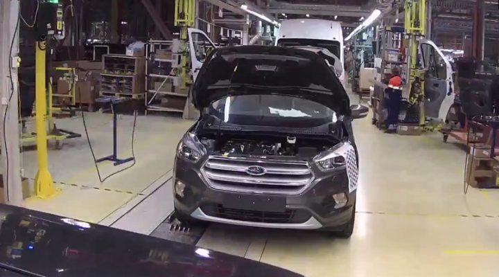 Как выглядит производство автомобилей «глазами машины»