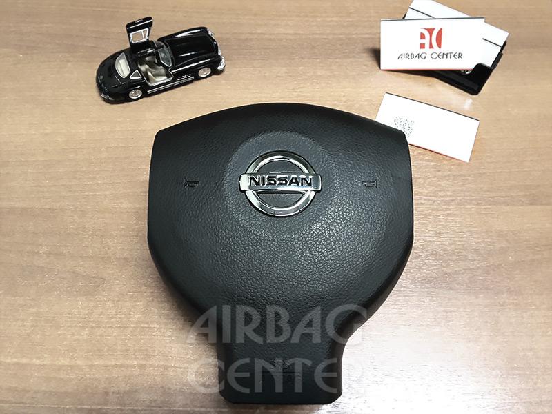 Nissan Tiida после восстановления рулевой крышки