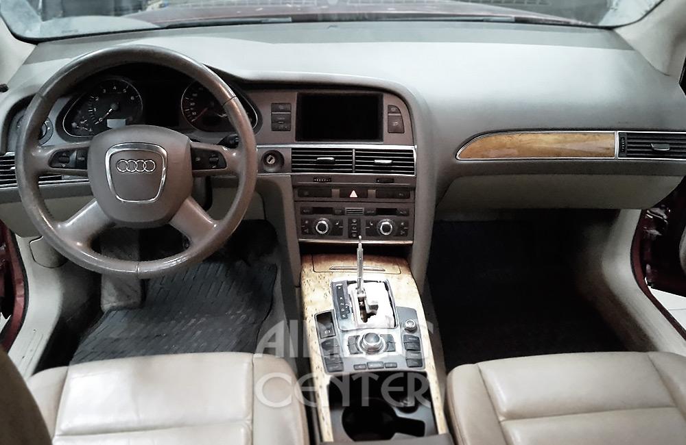Audi A6 - ремонт панели торпедо