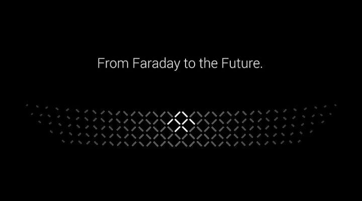 Фирма Faraday Future показала элементы дизайна первой модели