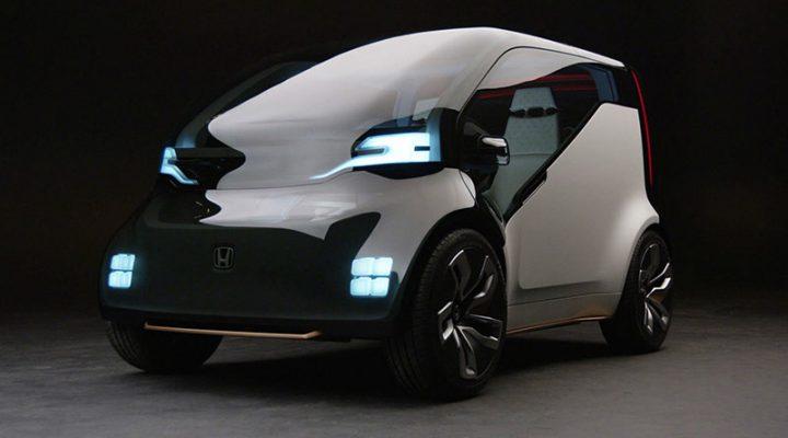 Honda разработала электромобиль, который может зарабатывать своему владельцу деньги